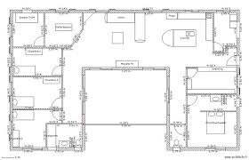 plan maison 3 chambres plain pied plan maison plain pied 3 chambres gratuit de rectangle newsindo co