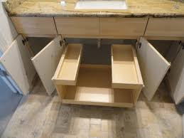 Slide Out Shelves by Pull Out Bathroom Shelves From Shelfgenie Of Oklahoma Increase