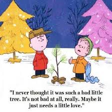 peanuts brown christmas tree image result for brown christmas tree quotes holidays