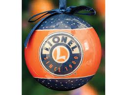 lionel logo ornaments