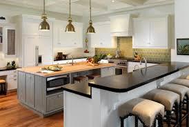 granite kitchen islands with breakfast bar bar home decor kitchen interior beautiful black granite kitchen
