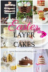 layer cakes for easter