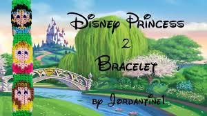 grid pattern alpha new disney princess 2 bracelet alpha loom rainbow loom jasmine