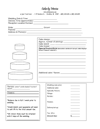 wedding cake order form best 25 order cake ideas on cake pricing wedding