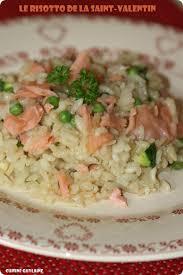 cuisiner pour amoureux dîner en amoureux risotto au saumon chagne pour la