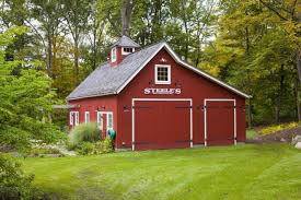 frame barn may become an original and attractive part of landscape