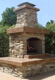 Stone Fireplace Kits Outdoor - outdoor fireplace kits outdoor fireplaces outdoors pinterest