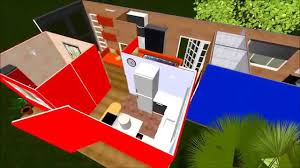 sweet home 3d home design software 40ft hicube 2x8ft shipping container home flyover virtual tour