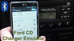 ford cd changer emulator with bluetooth functions aftermarket