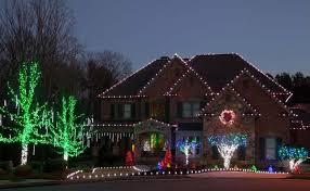 wall mounted outdoor christmas lights over the top christmas lighting displays diy with outdoor lights