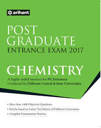 post graduate entrance examinations 2016 chemistry second edition