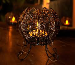 moroccan table lantern would look amazing for a classy halloween