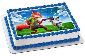 minecraft edible cake topper zootopia 2 edible cake topper cupcake topper edible prints on