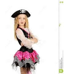 halloween carnival background child dressed as pirate in the poses on white background