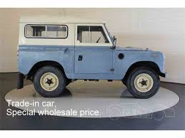land rover series ii 1963 land rover series iia for sale classiccars com cc 1000475