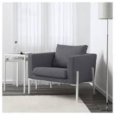 Ikea Futon Cover Koarp Armchair Gunnared Medium Grey White Ikea