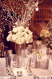 tall bling wedding centerpiece with vintage lookwedwebtalks