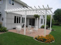 White Vinyl Pergola by 26 Best Vinyl Pergolas Images On Pinterest Vinyl Pergola