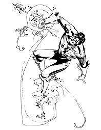 Classic Green Lantern Comic Book Coloring Page H M Coloring Pages Green Coloring Page
