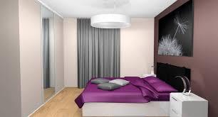 chambre aubergine et beige beige meuble idees en chambres interieure une comment deco theme