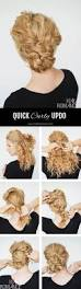best 10 easy curly updo ideas on pinterest curly updo tutorial