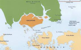 Map Of Malaysia Passing Of Sovereignty The Malaysia Singapore Territorial Dispute