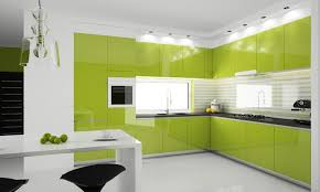 kitchen furniture pictures modern kitchen interior design in green home designs project