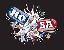 hosa t shirt logo logos chat board and medical coding