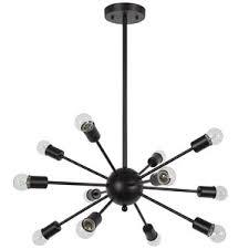 Black Chandelier Lamps Modern Contemporary Chandeliers Allmodern