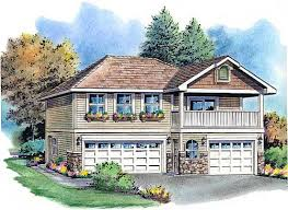 Garage With Bedroom Above Garage Plan 58569 At Familyhomeplans Com