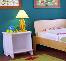 nightstand appealing kids cartoon cars theme table lamp