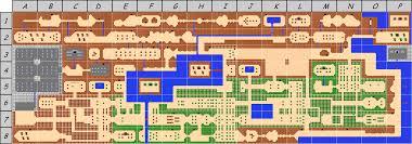 legend of zelda map with cheats legend of zelda map of overworld hyrule of quest 1 zelda i nes