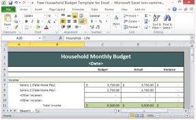 Home Budget Spreadsheet Template Budget Spreadsheet Template Free Budget Spreadsheet Template