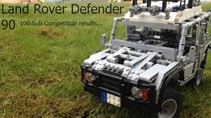 lego land rover lego technic land rover defender 90 youtube