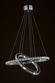 Chandeliers Led Elipse Ring Chandelier Led Chandeliers Modern