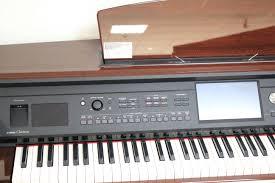 si e piano used yamaha clavinova cvp 609pm polished mahogany epianos