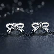 warren stud earrings aliexpress buy cici warren delicate 100 925 sterling silver