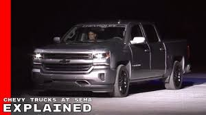 chevy trucks chevy trucks at sema 2017 explained silverado colorado zr2