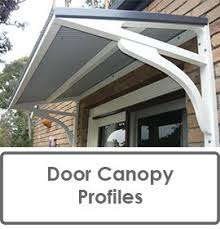 Awning For Back Door Door Canopy Profiles Windowtreatments Window Treatments