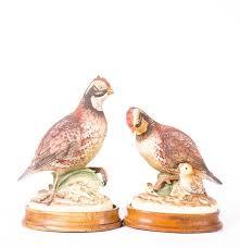 bob white ceramic bird figures from andrea by sadek ebth