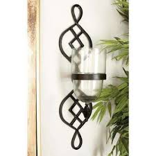 Cast Iron Wall Sconce Cast Iron Candle Holders Candles U0026 Home Fragrance The Home Depot
