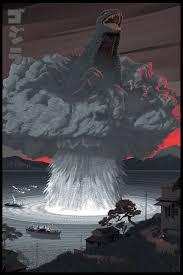 Ex Machina Mansion by Laurent Durieux Godzilla Print From Dark Hall Mansion