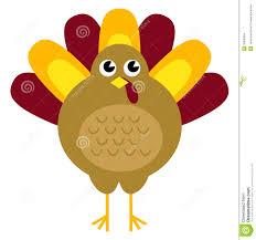 retro thanksgiving turkey isolated on white stock vector