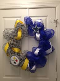 Dallas Cowboys Home Decor House Divided Steeler Cowboys Cute For Our Door Our Home