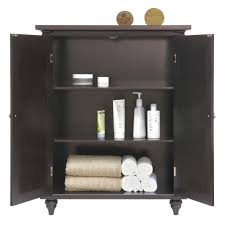Corner Bathroom Storage Unit by Furniture Black Wooden Bathroom Linen And Toiletris Tower Storage