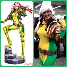 Rogue Halloween Costume Costume Notes Rogue Kotobukiya Statue Version U2013 Geeky