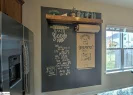chalkboard in kitchen ideas kitchen chalkboard wall bloomingcactus me