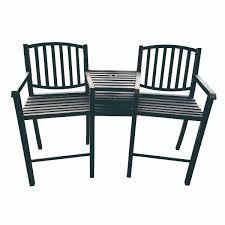 Tete A Tete Garden Furniture by Steel Tete A Tete Bar Or Balcony Ddi Retail