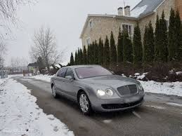 bentley snow 2007 bentley continental flying spur автогурман