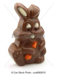 chocolate rabbits easter chocolate rabbit with carrot stock photography search